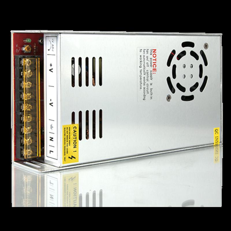 Блок питания для светодиодной ленты 400W 12V IP20 (202003400)