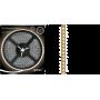 Светодиодная лента влагозищищённая 2835/120SMD 9.6W 12V теплый свет IP66 (блистер 5м) 311000110