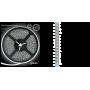 Светодиодная лента влагозащищённая 2835/120SMD 9.6W 12V холодный свет IP66 (блистер 5м) EB311000310