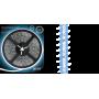Светодиодная лента влагозащищённая 2835/60SMD 4.8W 12V синий свет IP66 (блистер 5м) 311000505