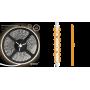 Светодиодная лента 2835/60SMD 4.8W 12V теплый свет (блистер 5м) 312000105