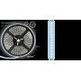 Светодиодная лента 2835/120SMD 9.6W 12V холодный свет (блистер 5м) 312000310