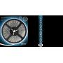 Светодиодная лента 2835/60SMD 4.8W 12V синий свет (блистер 5м) 312000505