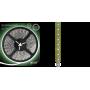 Светодиодная лента 2835/60SMD 4.8W 12V зеленый свет (блистер 5м) 312000605