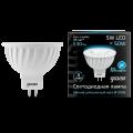 Софитная светодиодная лампа Gauss MR16 GU5.3 5W 530lm 4100K (101505205)
