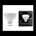 Софитная светодиодная лампа Gauss MR16 GU5.3 7W 630lm 4100K (101505207)