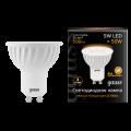 Софитная светодиодная лампа Gauss MR16 GU10 5W 500lm 3000K (101506105)