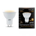 Софитная светодиодная лампа Gauss MR16 GU10 7W 600lm 3000K (101506107)