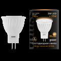 Софитная светодиодная лампа Gauss MR11 GU4 3W 290lm 3000K LED (132517103)