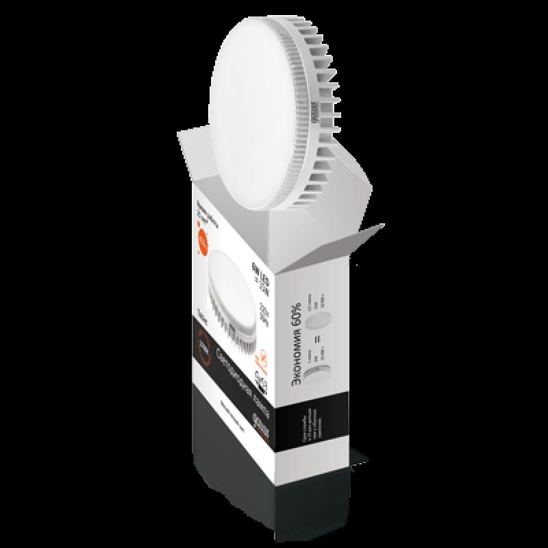 Светодиодная лампа Gauss Elementary LED GX53 6W 440lm 3000K (83816)