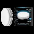 Светодиодная лампа Gauss LED GX53 6W 490lm 4100K (108008206)